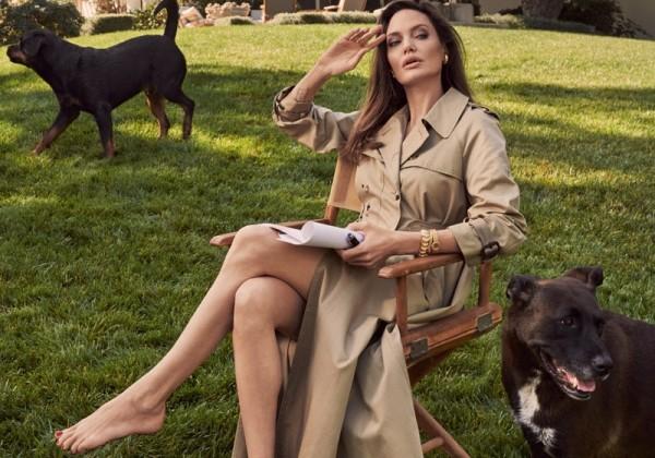 Angelina Jolie na titulke Vogue: Stále zamilovaná do Brada Pitta?