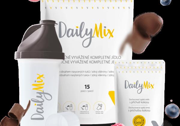 Vyskúšajte NOVINKU DailyMix: Revolúcia v rýchlom a nutrične vyváženom stravovaní